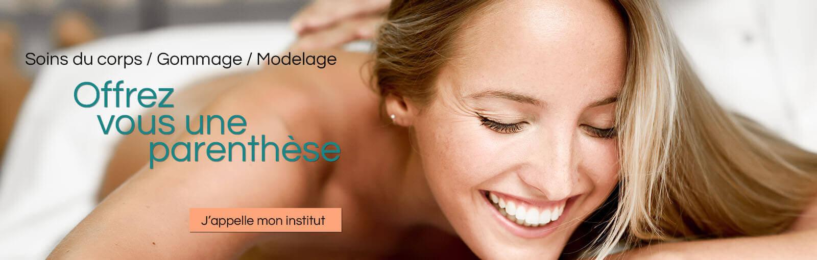 Soins corps et massage pour la femme et l'homme